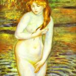 The Bather After the Bath