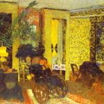 Sitting Room with Three Lamps, Saint-Florentin Street